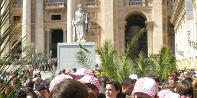 Palm Sunday in Rome